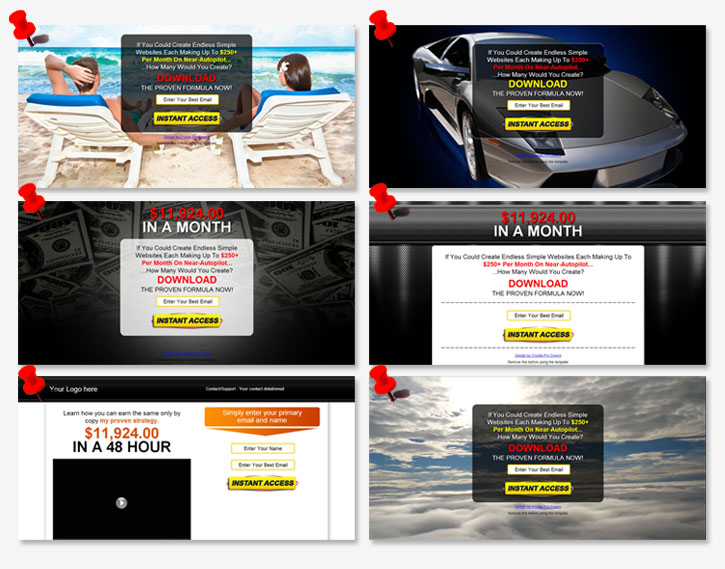 Squeeze Page Templates | Free Wso Awesome 6 Squeeze Page Templates Warrior Forum The 1